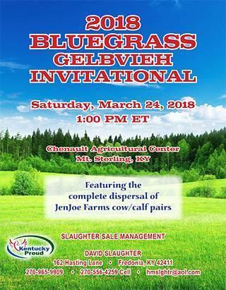 2018 Spring Bluegrass Invitational Sale Catalog-1
